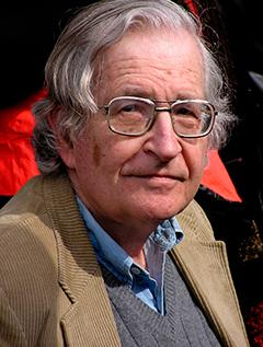 Noam Chomsky image