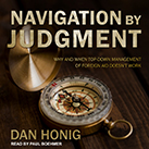 Navigation by Judgment